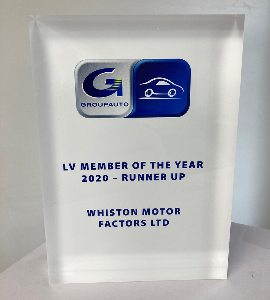 LV Member of the Year 2020 - Runner Up